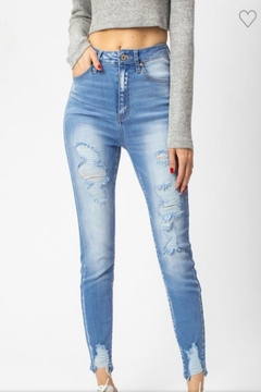 Kan Can Light Denim Jeans - Product List Image