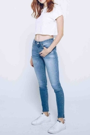 Kan Can Lightly Faded Skinny - Front cropped