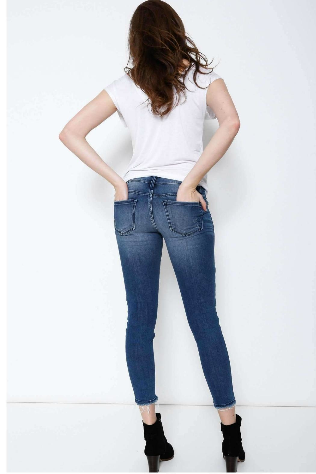 Kan Can Moto Cropped Skinny - Side Cropped Image