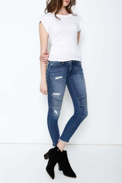 Shoptiques Product: Moto Cropped Skinny