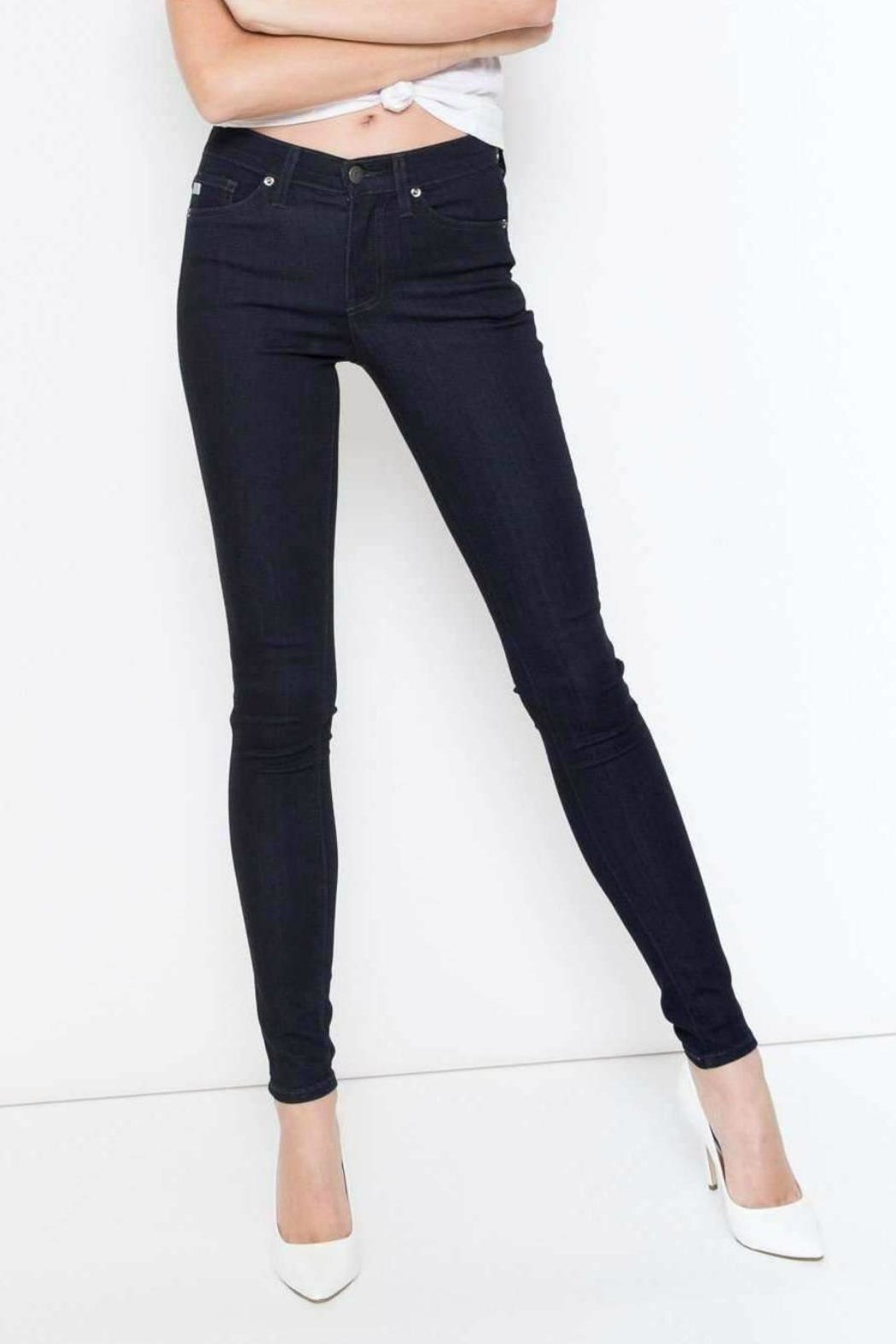 Kan Can Premium Dark Skinny - Front Cropped Image