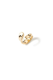 Uno de 50 Kanawa Beach Ring, Gold - Product Mini Image