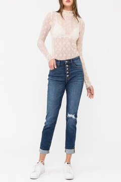 KanCan 5-Button Straight Jean - Product List Image