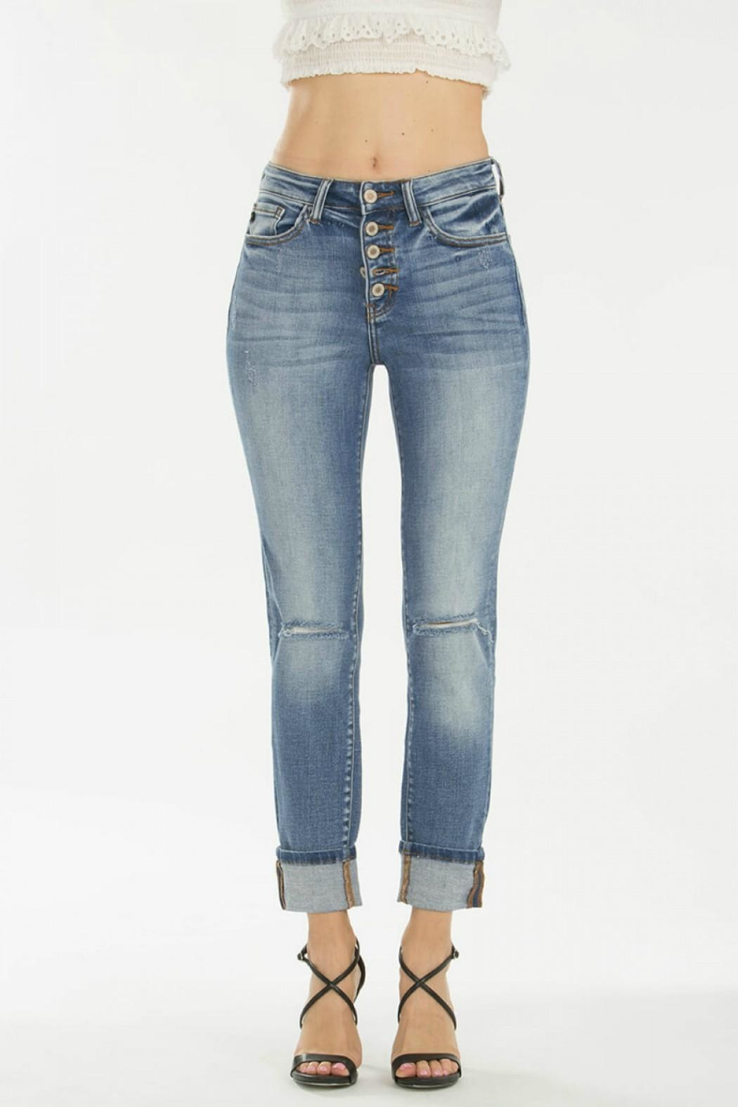 KanCan 5-Button Straight Jeans - Side Cropped Image