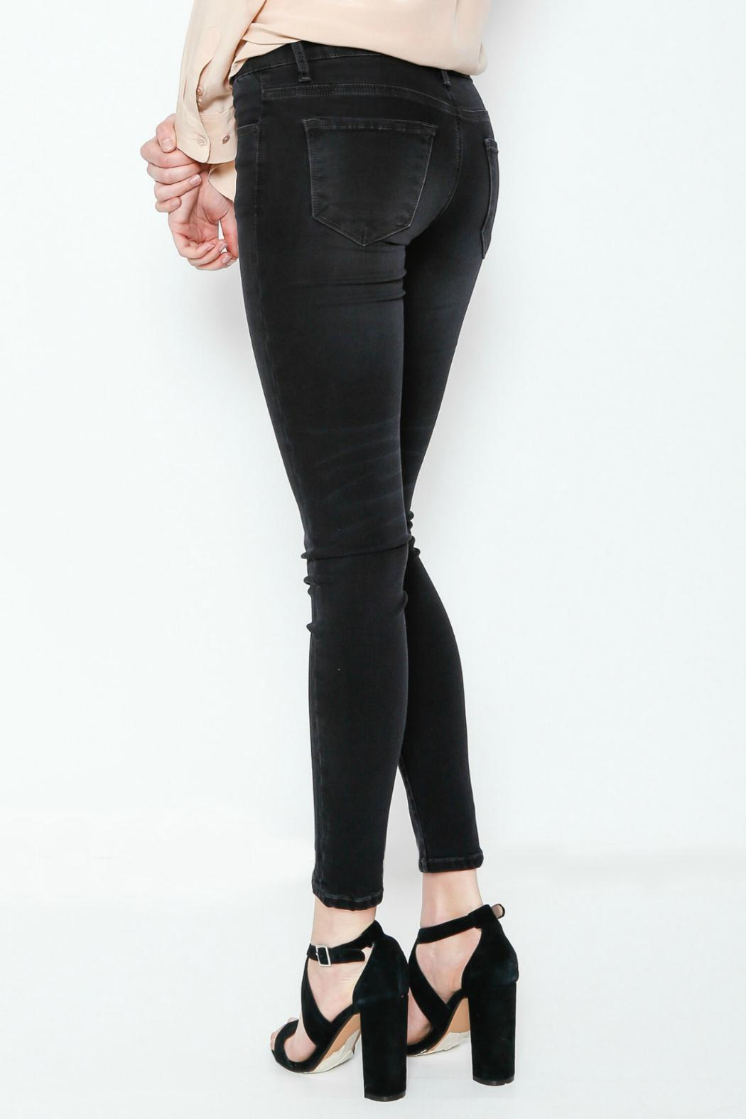 KanCan Black Wash Jeans - Side Cropped Image