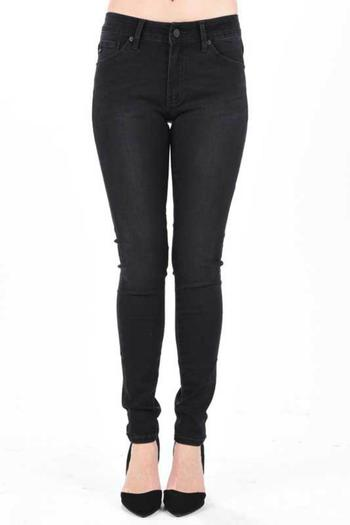 KanCan Black Wash Jeans - Main Image