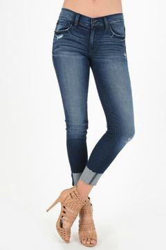 Shoptiques Product: Cuffed Skinny Jeans