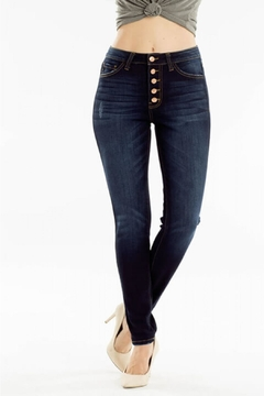 Shoptiques Product: Curvy-Fit Skinny Jeans