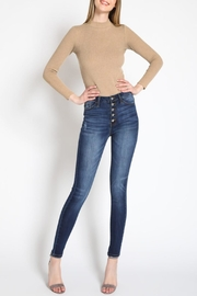 KanCan Curvy-Fit Skinny Jeans - Product Mini Image