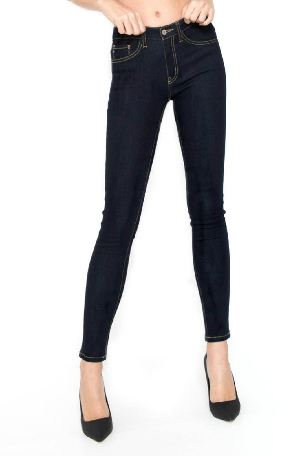 KanCan Dark Wash Jeans - Back Cropped Image