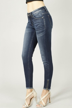 KanCan Dark Zipper Denim - Product List Image