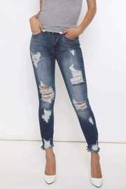KanCan Kancan Destroyed Skinny Jeans - Product Mini Image