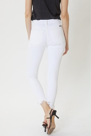KanCan Distressed Ankle Skinny - Back cropped