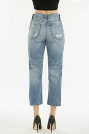 KanCan Distressed Straight Jean - Front full body