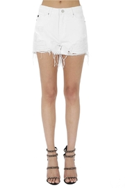 KanCan Distressed White Shorts - Product Mini Image