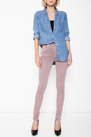 KanCan Dreamy Rose Skinny Jeans - Front cropped
