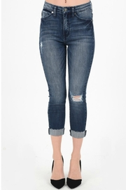 KanCan Faded Jeans - Front cropped