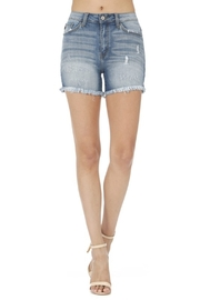 KanCan Frayed Shorts - Product Mini Image