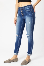 KanCan Gemma Button-Fly Ankle-Skinny - Product Mini Image