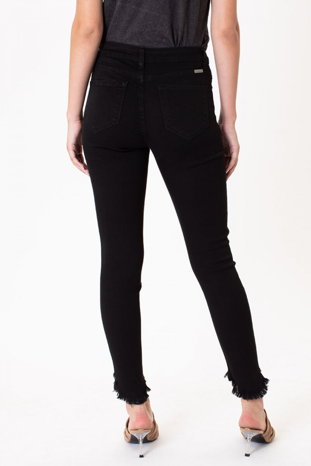 KanCan High Rise Ankle Skinny jean - Front Full Image