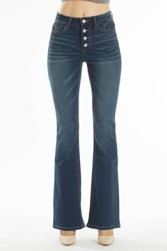 KanCan High Rise Bootcut jean (kc7807d) - Product List Image