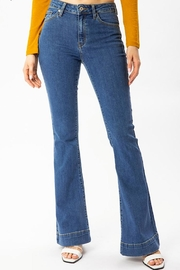 KanCan High Rise Flare Jeans - Product Mini Image