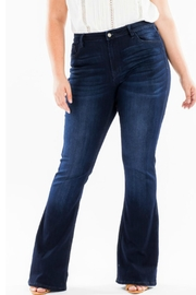 KanCan High-Rise Flare Stretch-Jean - Front cropped