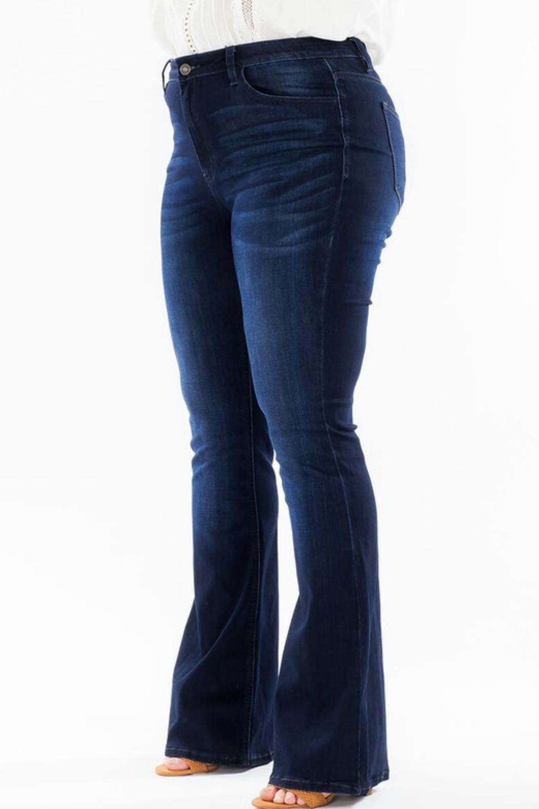 KanCan High-Rise Flare Stretch-Jean - Side Cropped Image