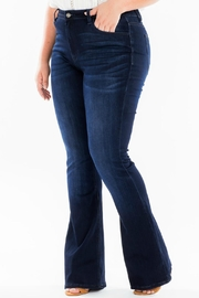KanCan High-Rise Flare Stretch-Jean - Back cropped