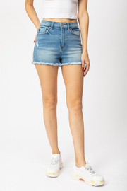 KanCan High Rise shorts - Product Mini Image