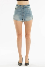KanCan High-Rise Stretch Short - Product Mini Image