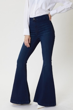 KanCan High Rise Super Flare Jeans (KC6247ND) - Product List Image