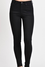 KanCan High-Waisted Black Jeans - Product Mini Image