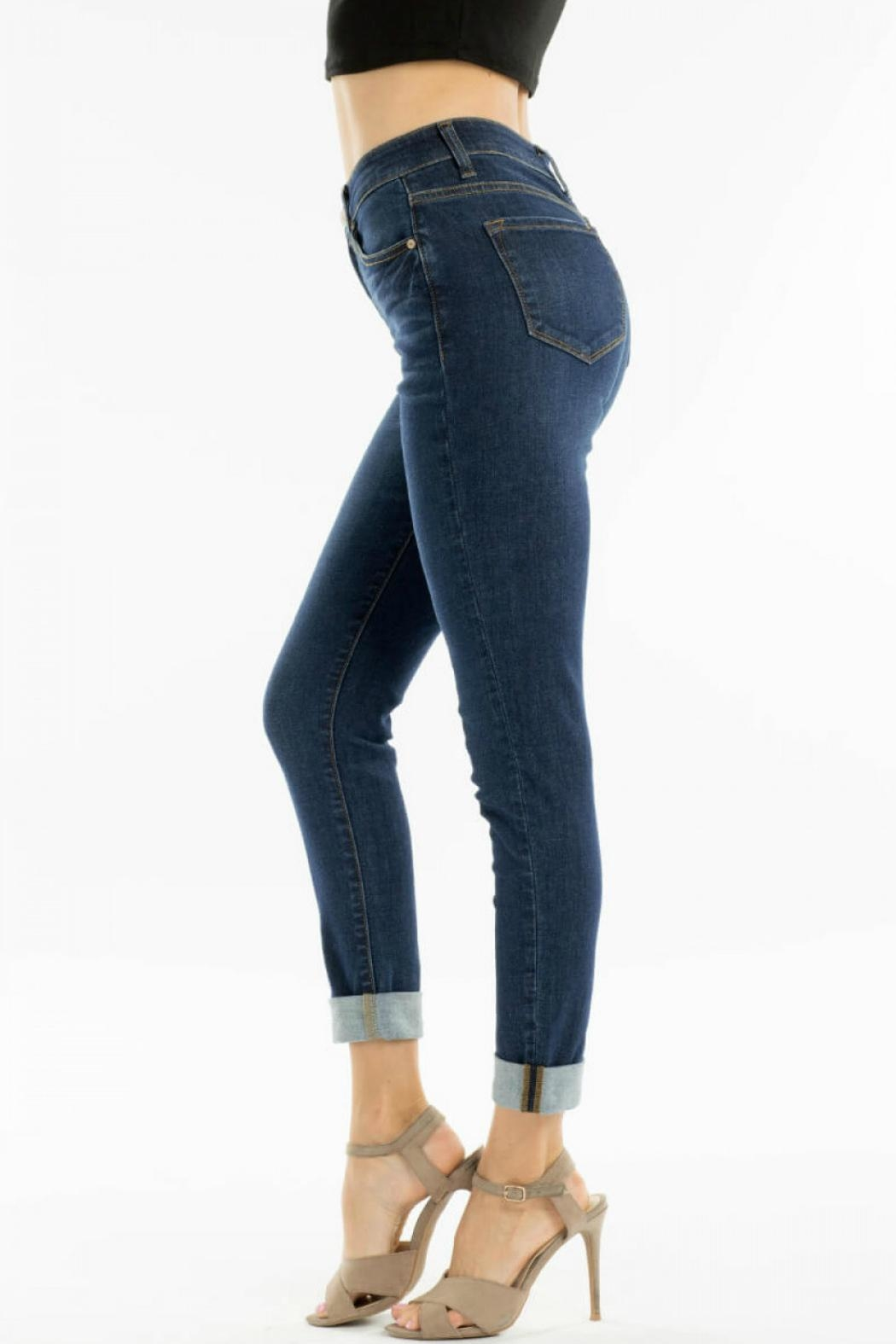 KanCan High-Waisted Kancan Blue-Jean - Side Cropped Image