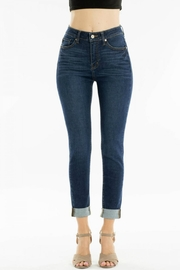 KanCan High-Waisted Kancan Blue-Jean - Front cropped