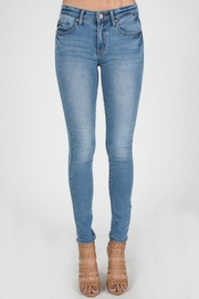 KanCan Kancan Faded Jeans - Front cropped