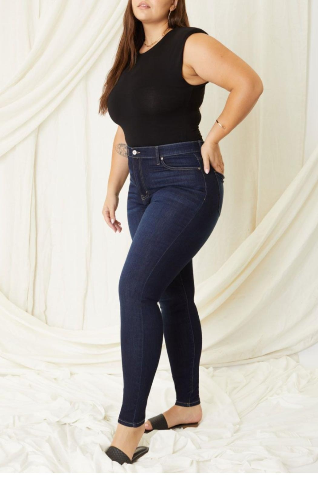 KanCan Lauryn High-Rise Skinny Kancan Jeans - Back Cropped Image