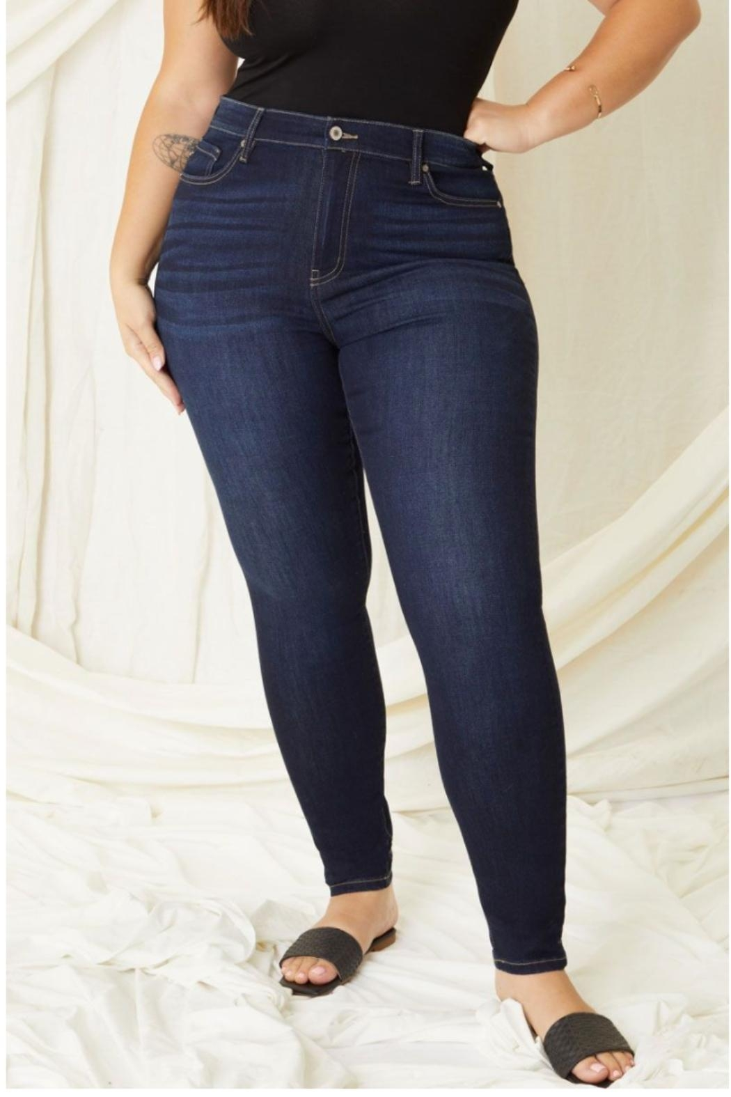 KanCan Lauryn High-Rise Skinny Kancan Jeans - Side Cropped Image