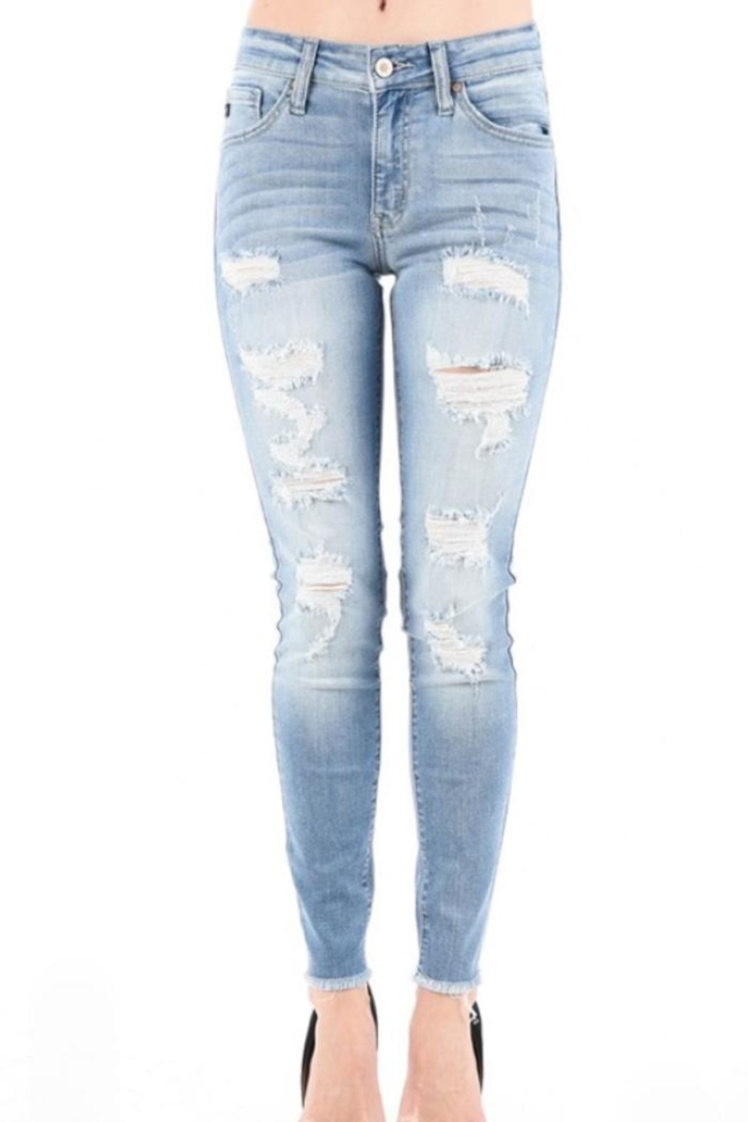 34391db13bdc2 KanCan Light Ripped Jeans from New York by Jamie and Maxi — Shoptiques