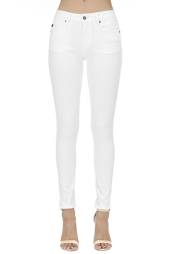 KanCan Mid Rise Ankle Skinny jean (KC7085WT) - Product List Image