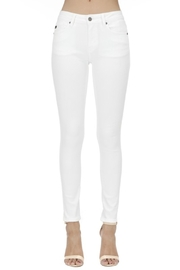 KanCan Mid Rise Ankle Skinny jean (KC7085WT) - Front cropped