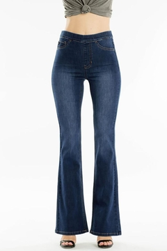 KanCan Mid Rise Flare Jeggings - Product List Image