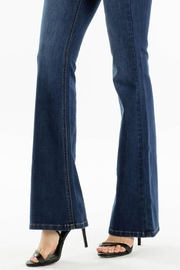 KanCan Mid Rise Flare Jeggings - Back cropped