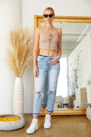 KanCan Mid Rise Jeans - Front cropped