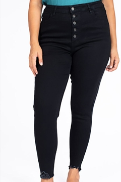 KanCan Plus Black Jeans - Product List Image