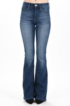 KanCan Slim Flared Denim - Product List Image