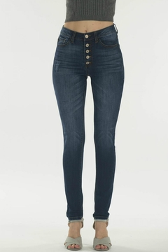 KanCan Super-Skinny Button-Fly Jean - Product List Image