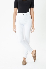 KanCan White Skinny Jeans - Side cropped