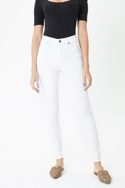 KanCan White Skinny Jeans - Front cropped