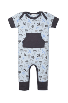 Feather Baby Kangaroo Romper - Alternate List Image